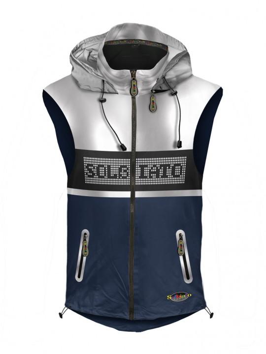 Solbiato_Sport_FW19_Top_Vest_Nevy_Favor_front