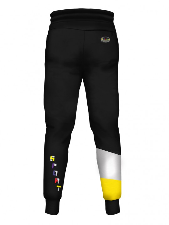 SOLBIATO_SPORT_BRICKY_YELLOW_PANTS_JOGGERS_BACK