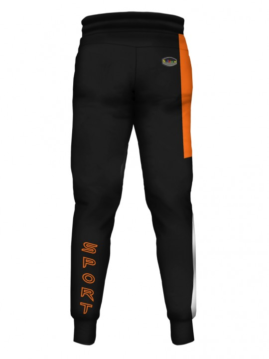 SOLBIATO_SPORT_PANTS_JOGGERS_DOUBLE_ORANGE_BACK