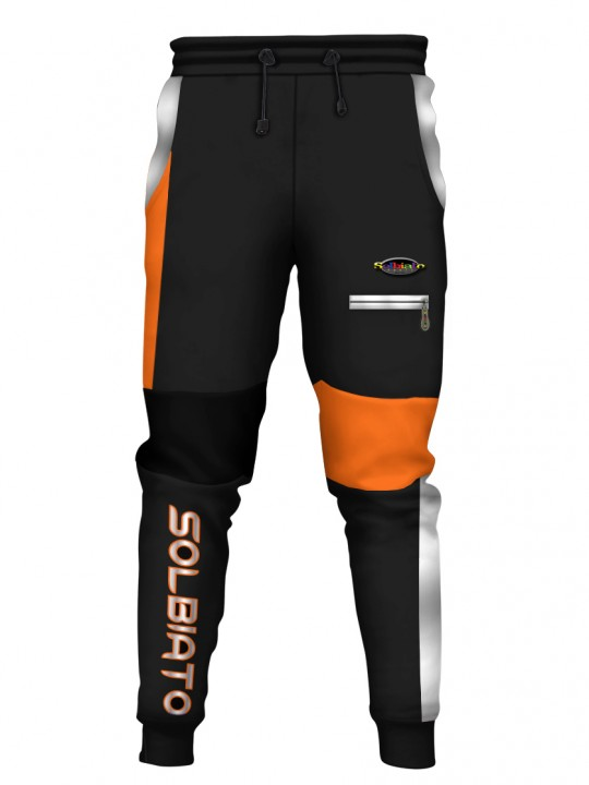 SOLBIATO_SPORT_PANTS_JOGGERS_DOUBLE_ORANGE_FRONT