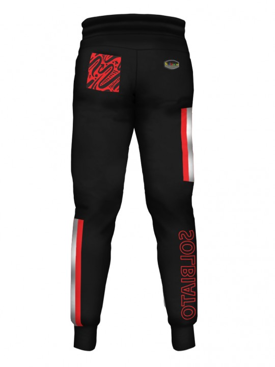 SOLBIATO_SPORT_PLATER_RED_PANTS_JOGGERS_Back
