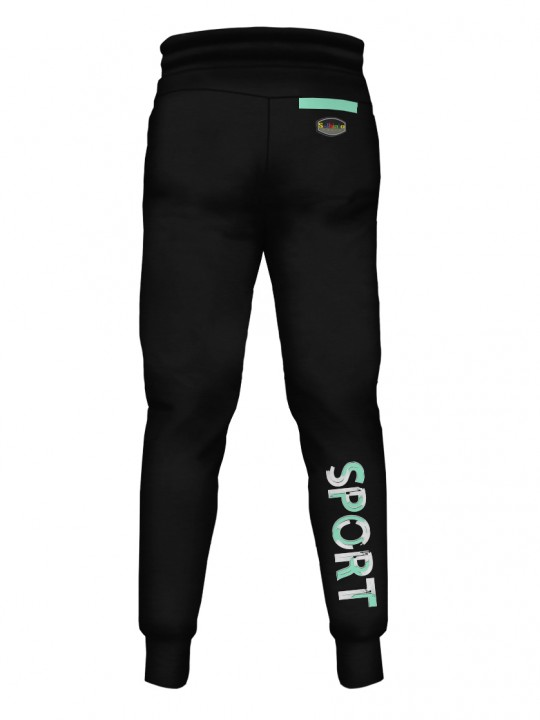 SOLBIATO_SPORT_Planet_Teal_PANTS_JOGGERS_Back