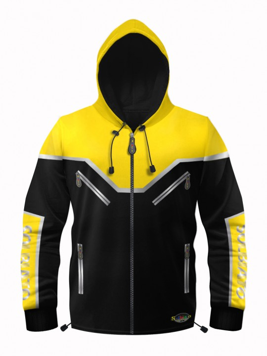 Solbiato_Sport_FW19_Top_SWT_Blackhill_Yellow_Front