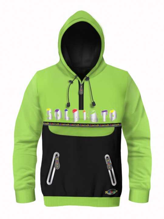 Solbiato_Sport_FW19_Top_SWT_Topping_Lime_Front